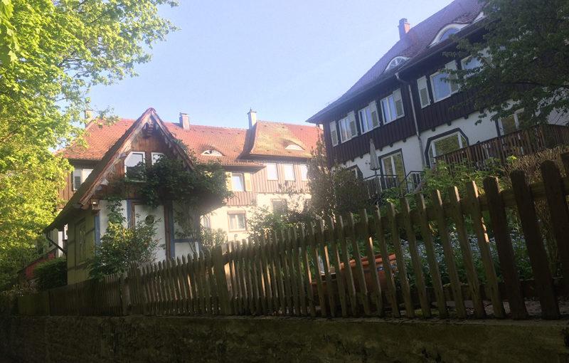 Ferienhaus direkt am Stadtpark